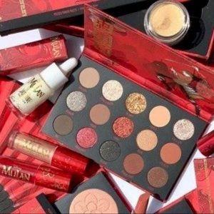 🖤New Colourpop x Mulan 4pc. Makeup Bundle/Set🖤